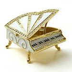 jeweled piano thumb Cast on Water